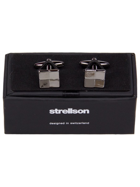 Strellson Manschettenknöpfe - Quadrat - 3798