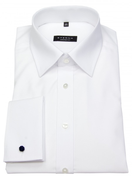 Eterna Hemd - Comfort Fit - Umschlagmanschette - weiß - 8500 E498 00