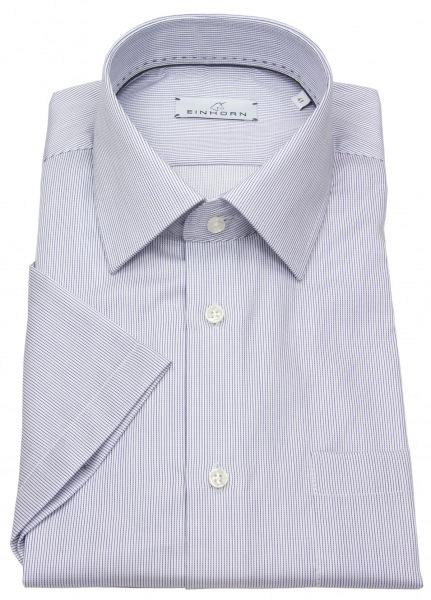 Einhorn Kurzarmhemd - Modern Fit - Streifen - blau / weiß - 391746.1520 4
