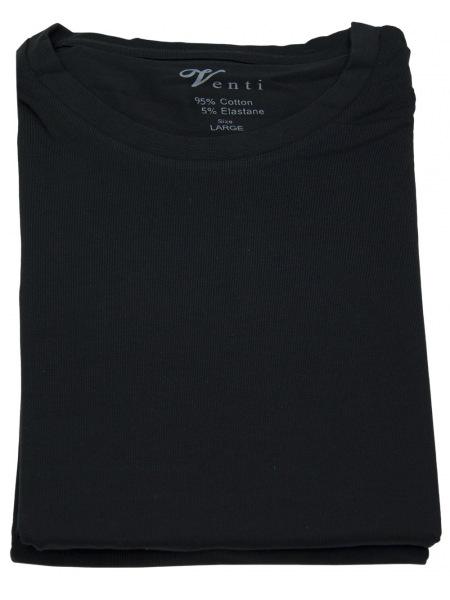 Venti T-Shirt Doppelpack - Rundhals - schwarz - 001650 800