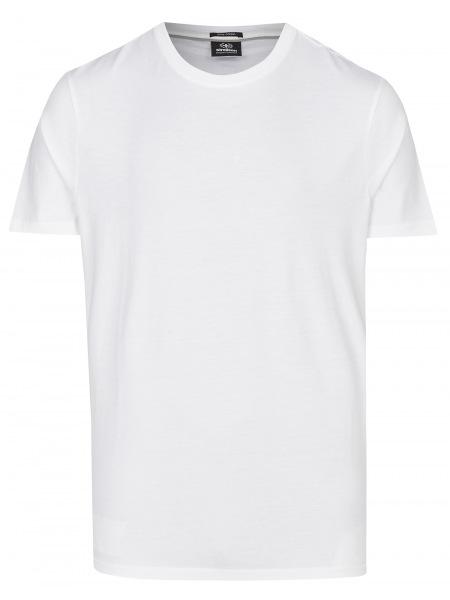 Strellson T-Shirt - Regular Fit - Rundahls-Ausschnitt - weiß - 10009594 100