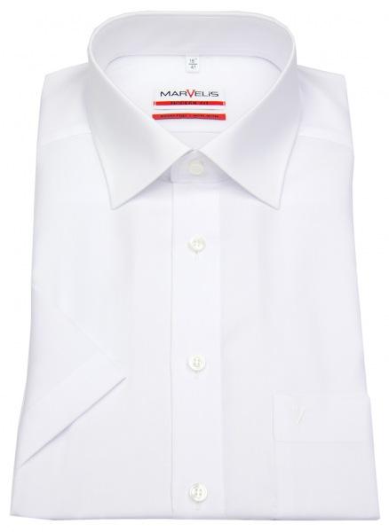 Marvelis Kurzarmhemd - Modern Fit - weiß - 4700 12 00