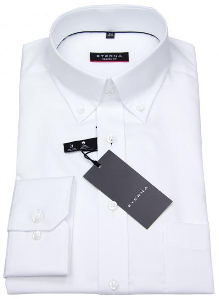 Eterna Hemd - Modern Fit - Oxford - Button Down - weiß - 8100 X194 00