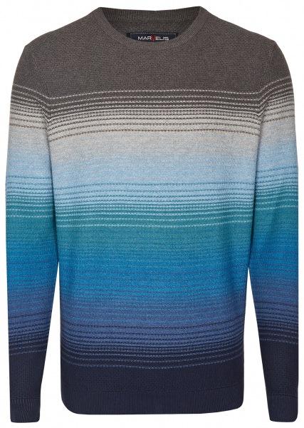 Marvelis Pullover - Rundhals - Ausschnitt - mehrfarbig gestreift - 6302 25 11