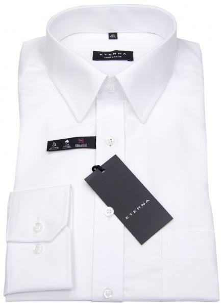 Eterna Hemd - Comfort Fit - Kentkragen weiß - langer Arm 68cm - 1100 E198 00 68cm