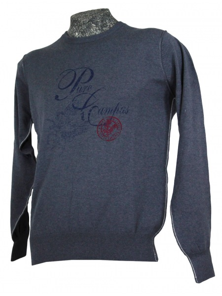 Pure Pullover - Blaugrau - A33100 9120 14
