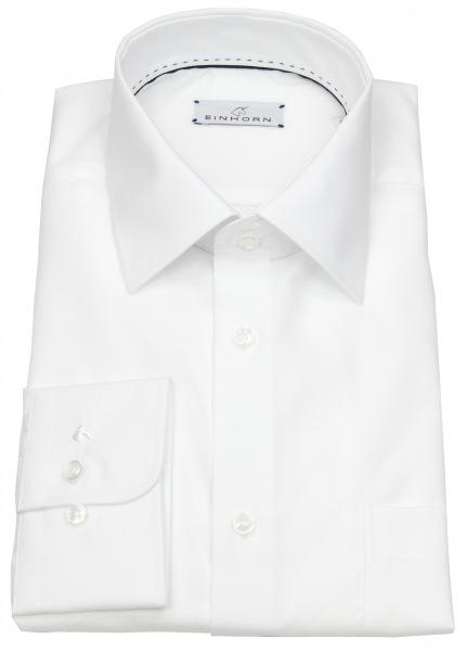 Einhorn Hemd - Regular Fit - Derby - weiß - 823 11305 0001