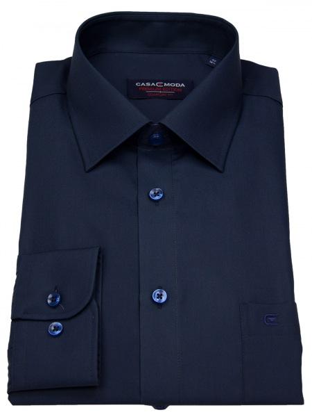 Casa Moda Hemd - Comfort Fit - dunkelblau - 006050 116