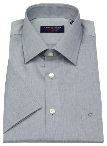 Casa Moda Kurzarmhemd - Comfort Fit - grau - 008070 705