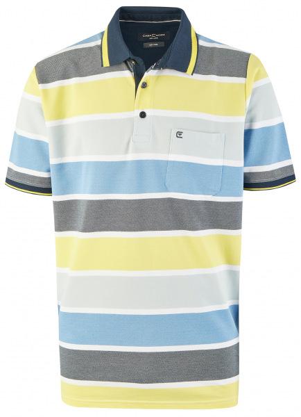 Casa Moda Poloshirt - Casual Fit - Streifen - mehrfarbig - 913578300 537