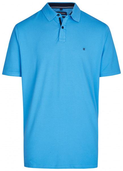 Casa Moda Poloshirt - Regular Fit - blau - 004470 100