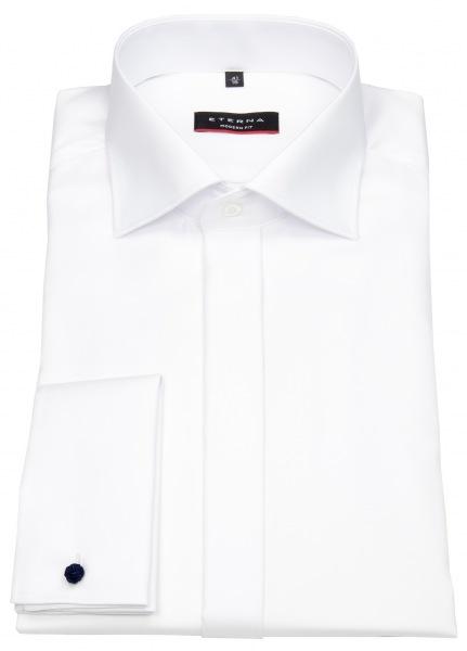 Eterna Galahemd - Modern Fit - Umschlagmanschette - weiß - 8817 X367 00