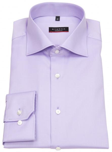 Eterna Hemd - Modern Fit - Cover Shirt - extra blickdicht - flieder - 8817 X18K 93