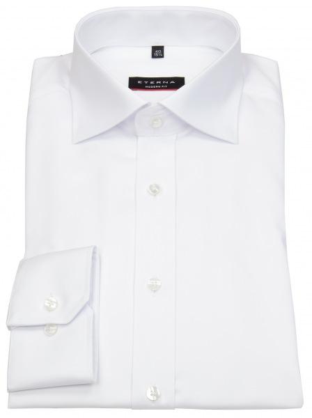 Eterna Hemd - Modern Fit - Cover Shirt - extra blickdicht - weiß - 8817 X18K 00