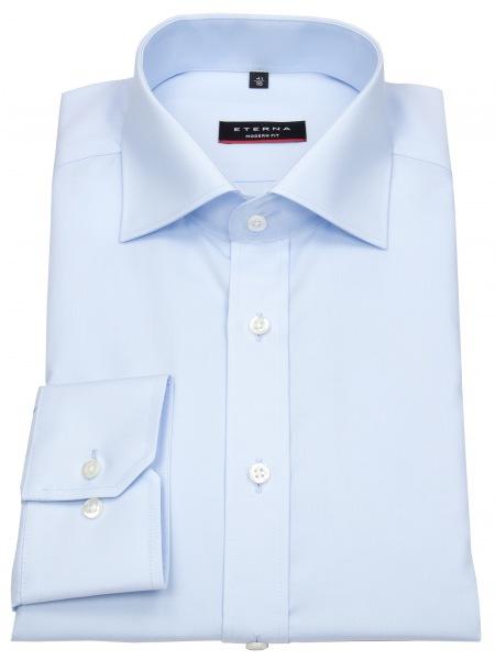 Eterna Hemd - Modern Fit - ohne Brusttasche - hellblau - 1100 X177 10