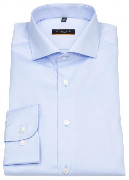 Eterna Hemd - Slim Fit - Cover Shirt - extra blickdicht - hellblau - 8817 F182 10