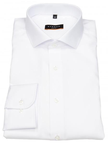 Eterna Hemd - Slim Fit - stark tailliert - weiß - 1100 F182 00