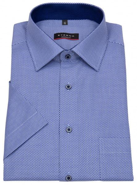 Eterna Kurzarmhemd - Modern Fit - blau / dunkelblau - 8019 C15P 16