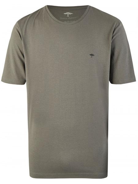 Fynch-Hatton T-Shirt - Casual Fit - Rundhals - grau - SNOS1500 970