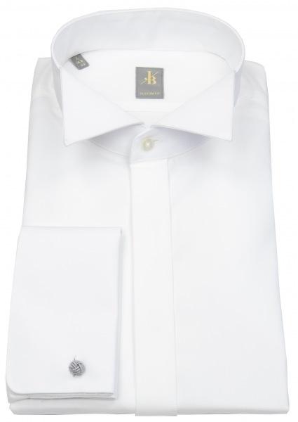 Jacques Britt Smokinghemd - Custom Fit - Kläppchenkragen - UMA - weiß - 960264.01