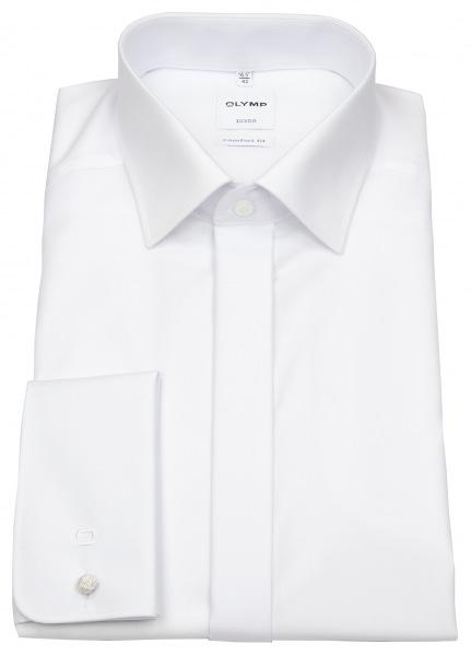 OLYMP Galahemd - Luxor Comfort Fit - Umschlagmanschette - weiß - 0294 65 00