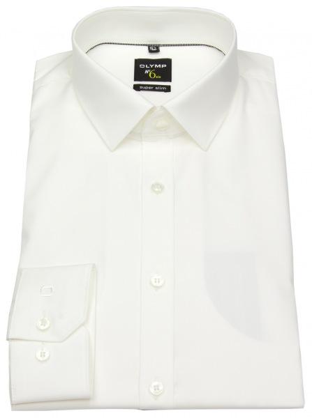 OLYMP Hemd - No. Six Super Slim - helles beige - 0466 64 20