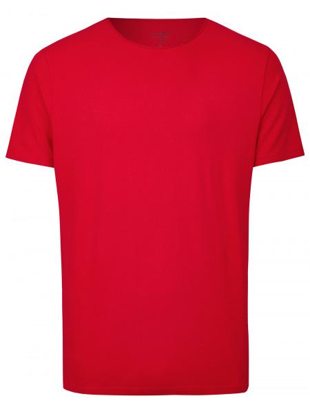 OLYMP Level Five Body Fit - T-Shirt - Rundhals-Ausschnitt - rot - 5660 32 33