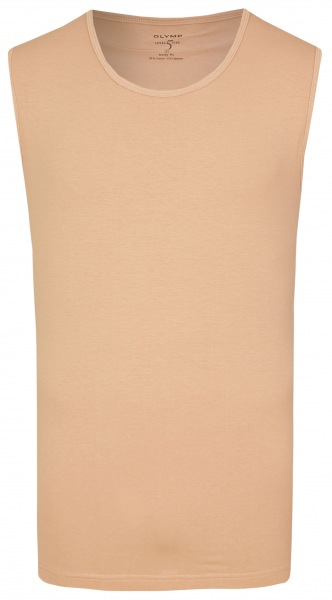 OLYMP Level Five Body Fit - Tank Top - Rundhals - caramel - 0802 00 24