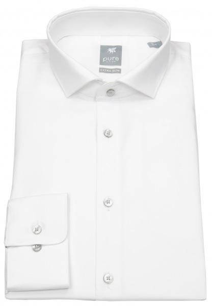 Pure Hemd - Extra Slim - Haifischkragen - weiß - 3377 198 900