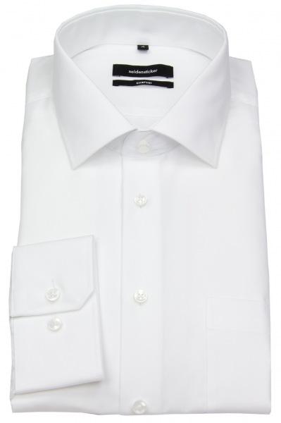 Seidensticker Hemd - Comfort Fit - Kentkragen - weiß - 312420 01