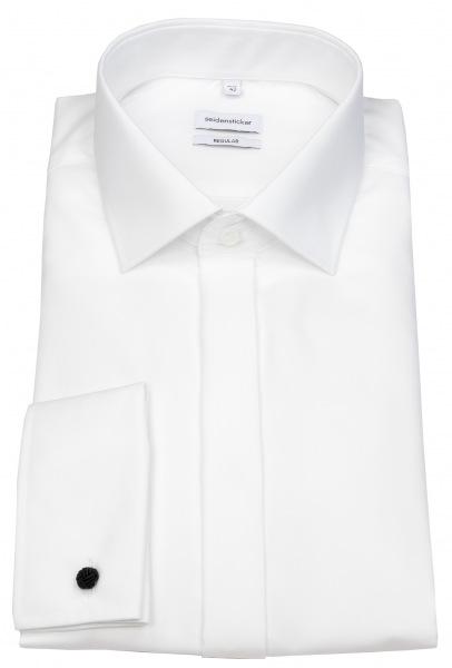Seidensticker Hemd - Regular Fit - Aida Kragen - Umschlagmanschette - weiß - 001034 01