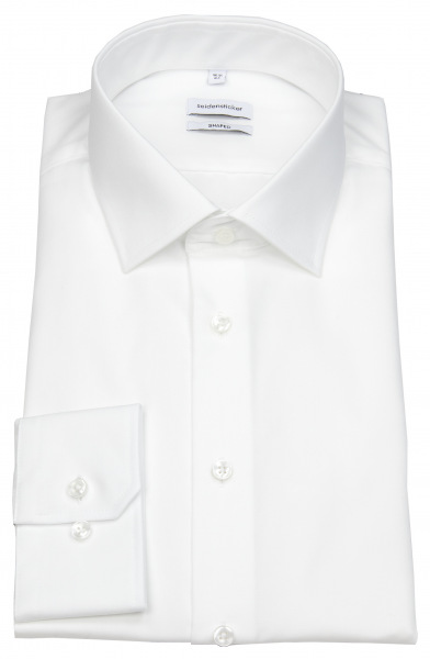 Seidensticker Hemd - Shaped Fit - Kentkragen - weiß - 021000 01