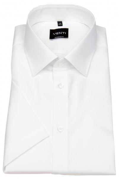 Venti Kurzarmhemd - Modern Fit - weiß - 001620 0